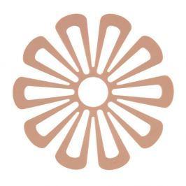 Suport din silicon pentru vase fierbinți Zone Flower, portocaliu