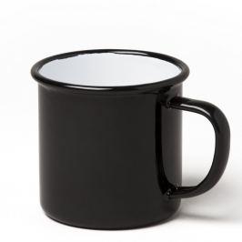 Cană smălțuită Falcon Enamelware, 350 ml, negru