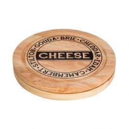 Set tocător pentru brânzeturi cu compartiment pentru stocare și 4 cuțite Premier Housewares