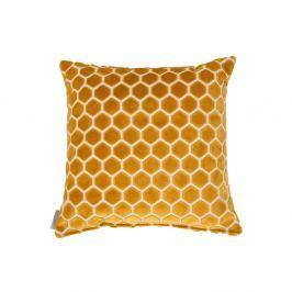 Pernă cu umplutură Zuiver Monty, 45 x 45 cm, galben