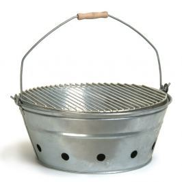 Grătar metalic portabil Garden Trading Rock BBQ