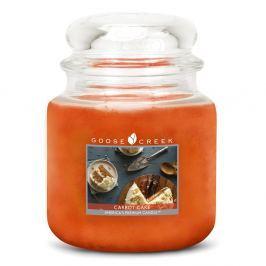 Lumânare parfumată în recipient de sticlă Goose Creek Tort de morcovi, 0,45 kg