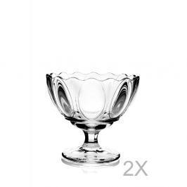 Set 2 cupe din sticlă pentru înghețată Pasabahce Lori