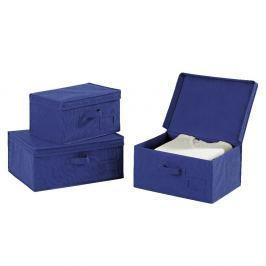 Cutie depozitare Wenko Ocean, 34 cm L, albastru