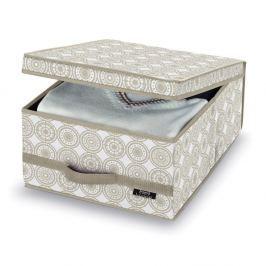 Cutie depozitare Domopak Ella, înălțime 18 cm, bej