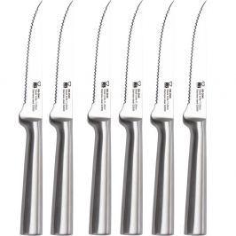 Set 6 cuțite argintii pentru steak Renberg