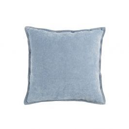 Pernă White Label Justin, 45 x 45 cm, albastru deschis