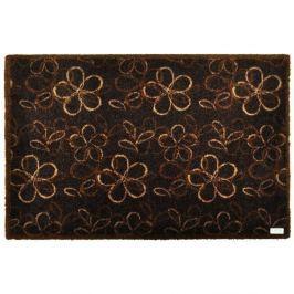 Preș Zala Living Floral Brown, 50 x 70 cm