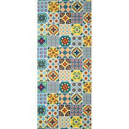 Covor foarte rezistent Webtappeti Azulejo, 58 x 115 cm
