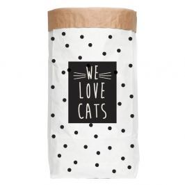 Sac din hârtie Really Nice Things Love Cats