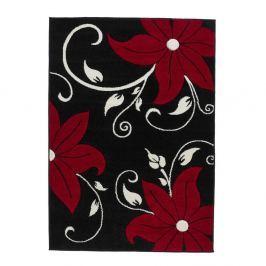 Covor Verona, 160 x 220 cm, roșu - negru