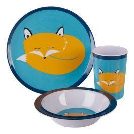 Set veselă pentru copii Premier Housewares Mimo Felix Fox, 3 piese