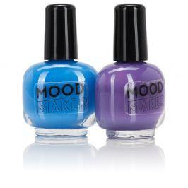 Set 2 lacuri de unghii NPW Beauty Junky Colour Changing Polish Purple