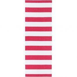 Covor potrivit pentru exterior Narma Birkas, 70 x 200 cm, roz - alb
