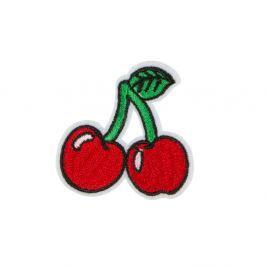 Ornament textil termoadeziv Sass & Belle Cherry Stem