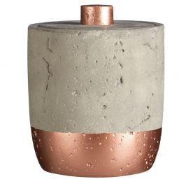 Recipient din beton pentru dischete Premier Housewares Manoel, 400 ml