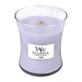 Lumânare parfumată WoodWick, aromă de liliac, 60 ore
