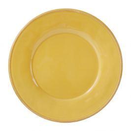 Farfurie din ceramică Côté Table Const, ⌀28,5 cm, galben