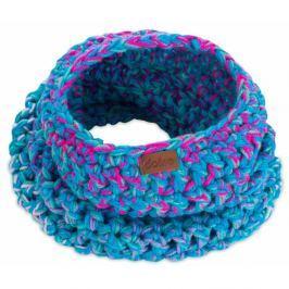 Eșarfă rotundă tricotată manual DOKE Twister