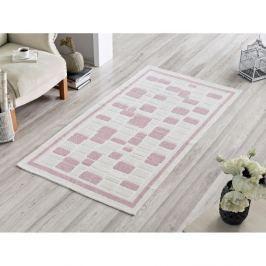 Covor Pink Tiles, 80 x 200 cm