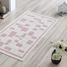 Covor Pink Tiles, 100 x 150 cm