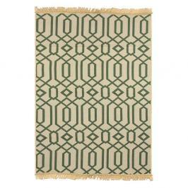 Covor Ya Rugs Kenar, 80 x 150 cm, verde
