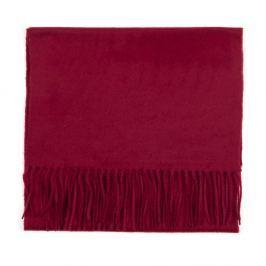 Eșarfă din cașmir Bel cashmere Dina, 180 x 30 cm, roșu închis