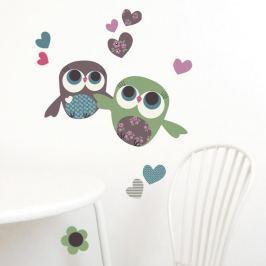 Autocolant Chocovenyl Owls Flight
