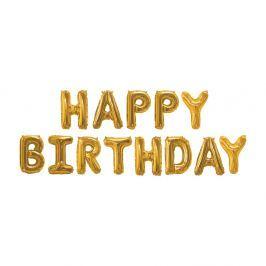 Balon HAPPY BIRTHDAY Neviti Gold