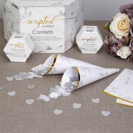 Conuri de confetti Neviti Marble