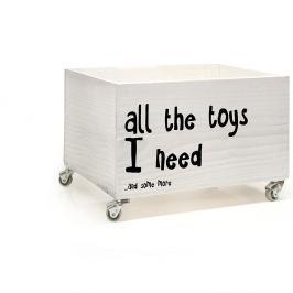 Cutie din lemn cu roţi Little Nice Things All The Toys
