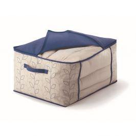 Cutie de depozitare pături/lenjerie de pat Cosatto Bloom, lățime 60 cm, albastru