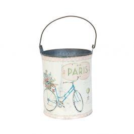 Găleată Clayre & Eef Paris Bike, Ø 9 x 12 cm