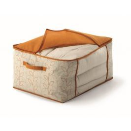Cutie de depozitare pături/lenjerie de pat Cosatto Bloom, lățime 60 cm, portocaliu