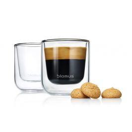 Set 2 pahare Blomus Nero Espresso, 80 ml
