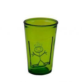 Pahar din sticlă Ego Dekor Zeus, 0,3 l, verde