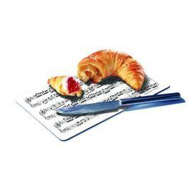 Tocător pentru pâine Remember Musiciand, 23,5 x 14,3 cm