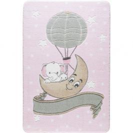 Covor pentru copii Confetti Moonlight, 133 x 190 cm, roz deschis