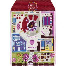 Covor pentru copii Confetti Pretty Home, 133 x 190 cm, roşu