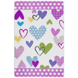 Covor pentru copii Confetti Nicolle, 133 x 190 cm, 133 x 190 cm, roz