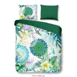Lenjerie pentru pat de o persoană o HIP Viridi, 140 x 200 cm