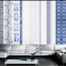 Tapet format mare Artgeist Vintage Blue, 210 x 300 cm