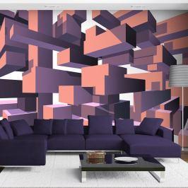 Tapet format mare Artgeist Dancing Rectangles, 245 x 350 cm