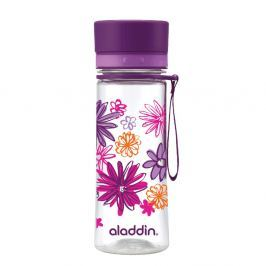 Sticlă de voiaj Aladdin Aveo Bloom, 350 ml, mov
