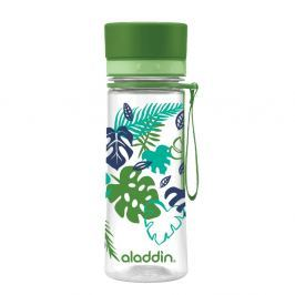 Sticlă de voiaj Aladdin Aveo Bloom, 350 ml, verde