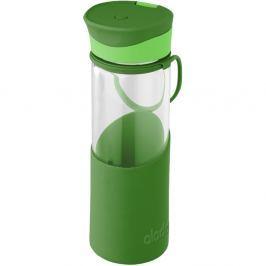 Sticlă cu înveliș de protecție din silicon Aladdin, 500 ml, verde