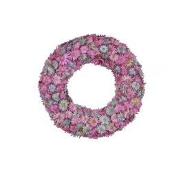 Coroniță de flori Ego Dekor, ⌀ 18,5 cm, roz