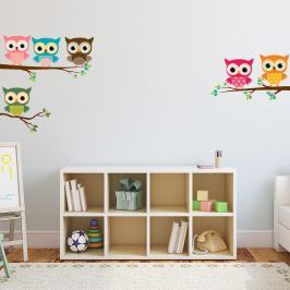 Autocolant Ambiance Magic Owls