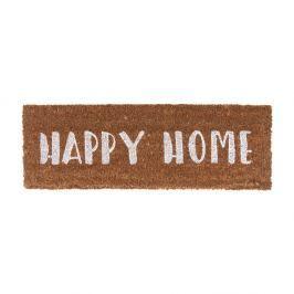Preș PT LIVING Happy Home, 26 x 75 cm, scris alb