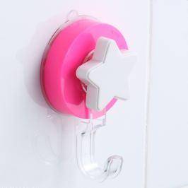 Cârlig cu montare fără găurire ZOSO Star Pink